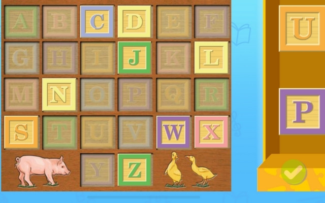 ABCマウスのパズル